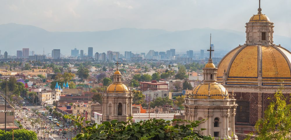 Mexico City, the capital city where great events take place