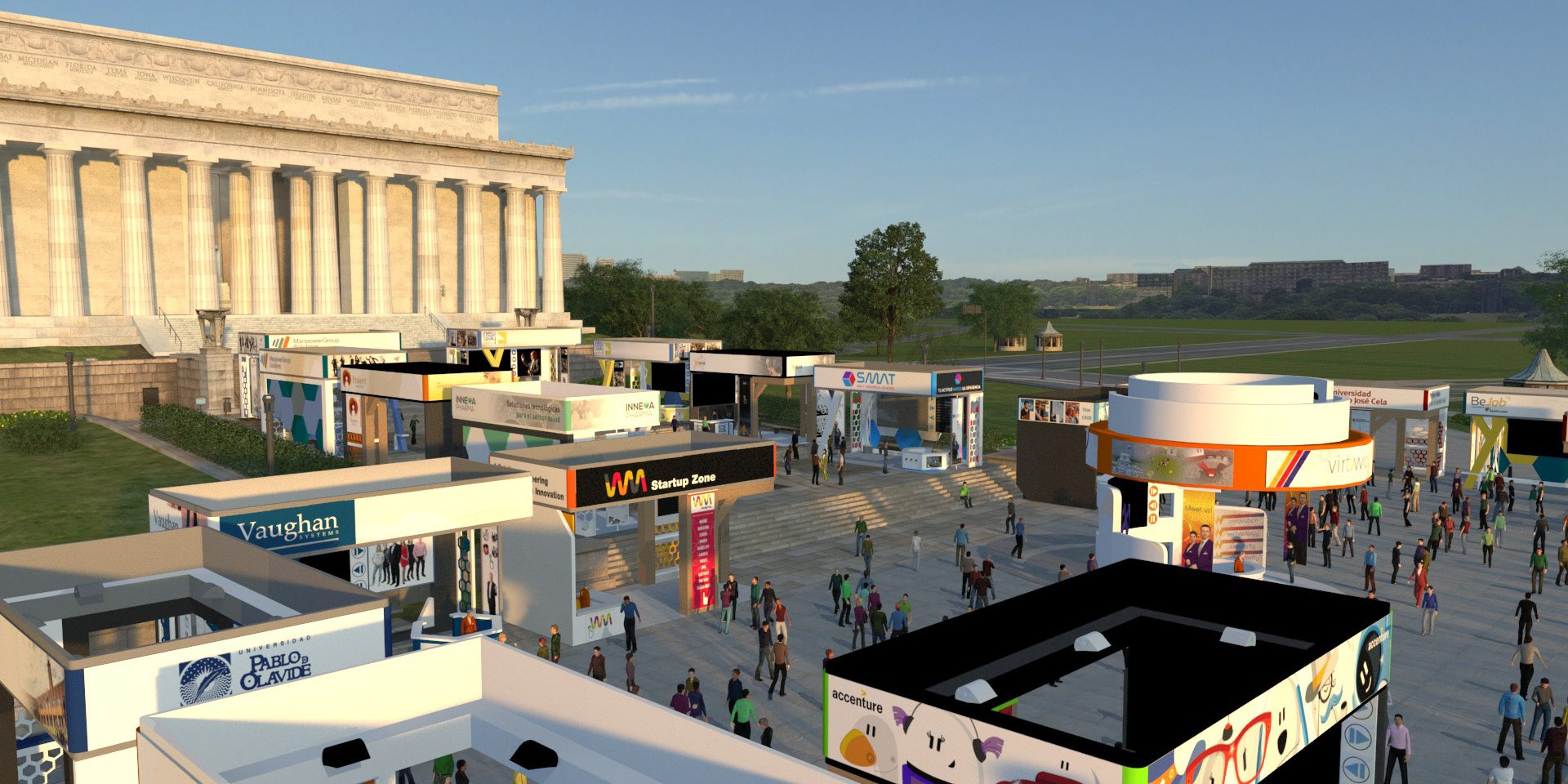 Virtway Events And The 3d Virtual Events Platform Inspire By Ibtm Events