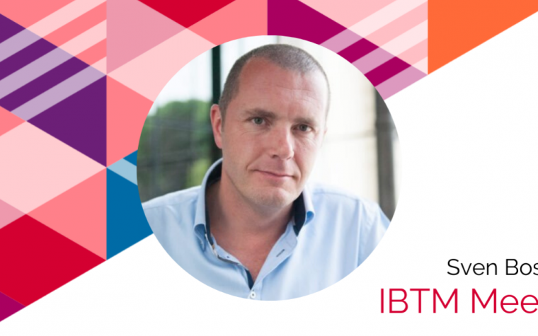 IBTM meets logo with picture of Sven Bossu