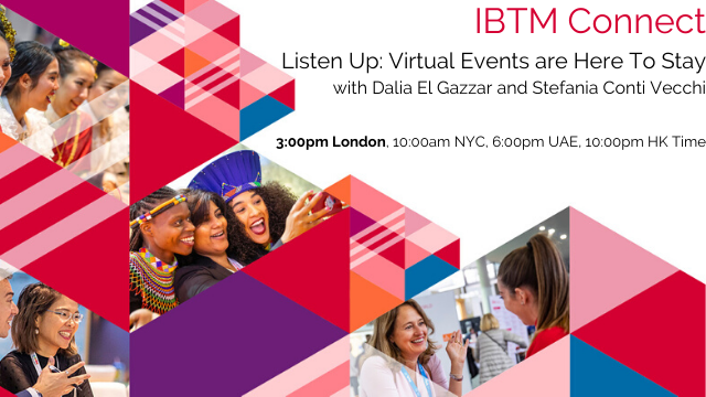 Listen up: virtual events are here to stay