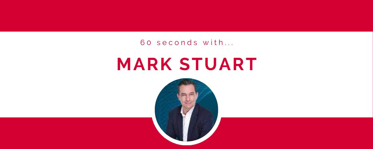 60 seconds with… Mark Stuart